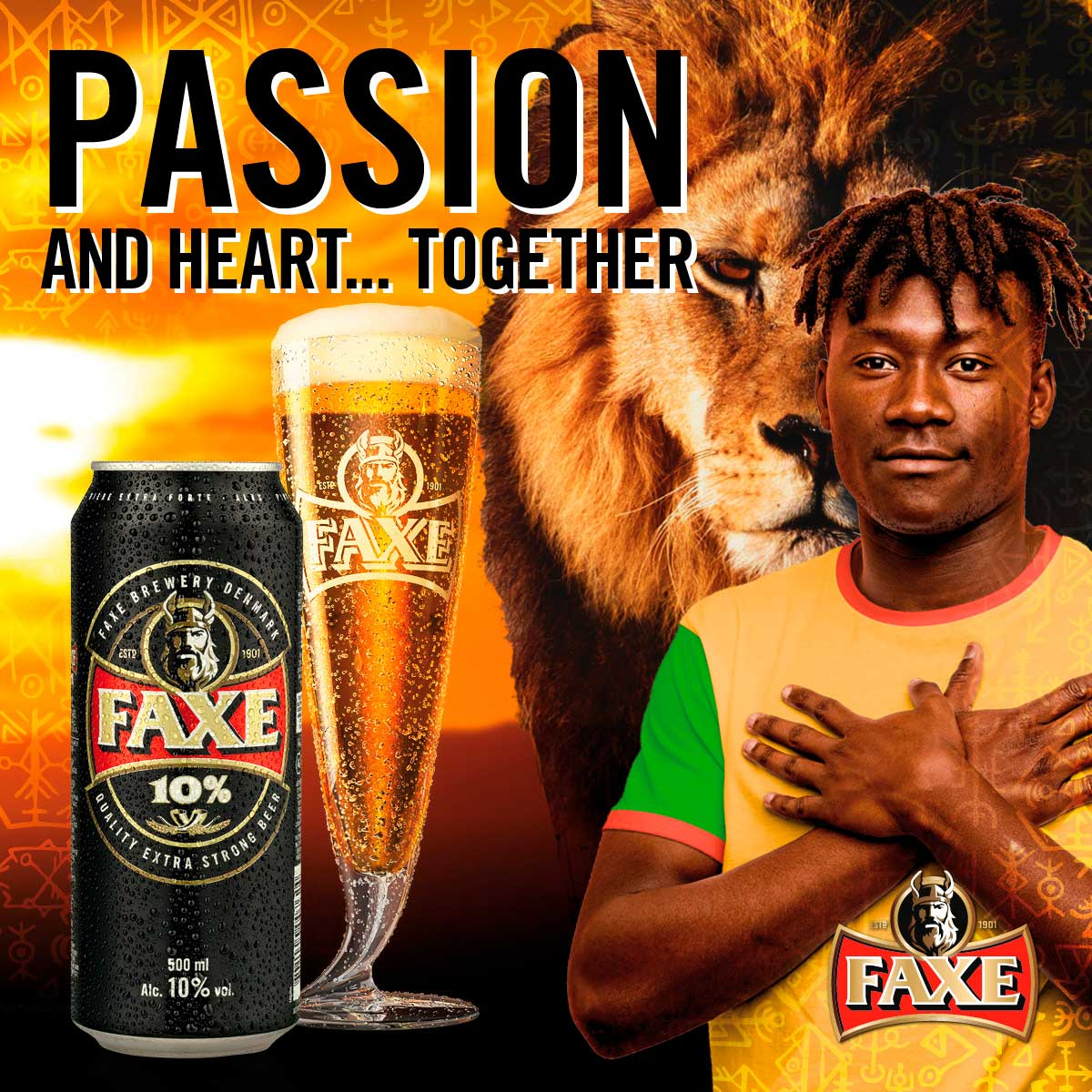 Passion and heart... TOGETHER (KE)