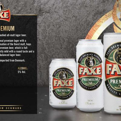 Faxe Premium Wallpaper