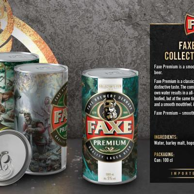 Faxe Collectors Item Wallpaper