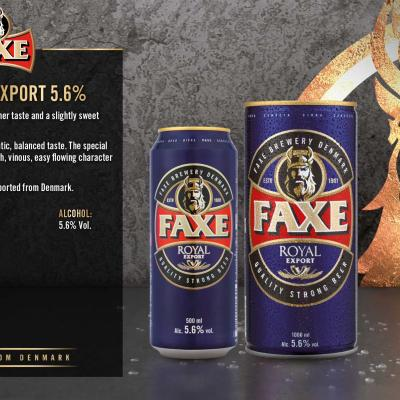 Faxe Royal Export Wallpaper