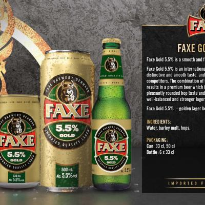 Faxe Gold Wallpaper