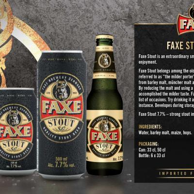 Faxe Stout Wallpaper