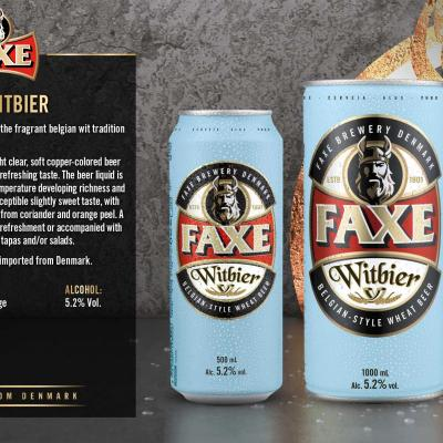 Faxe Witbier Wallpaper
